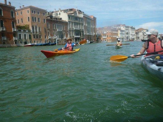 Venice Kayak : grand canal
