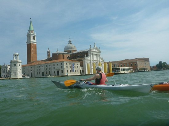 Venice Kayak : out on the lagoon