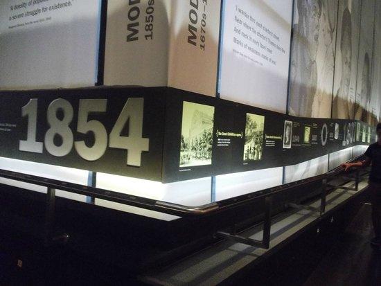 Museum of London: les frises a perte de vue