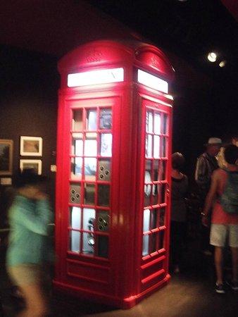 Museum of London: la fameuse cabine
