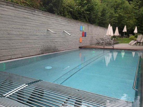 Seehotel Wilerbad: Piscine extérieure, chauffée !