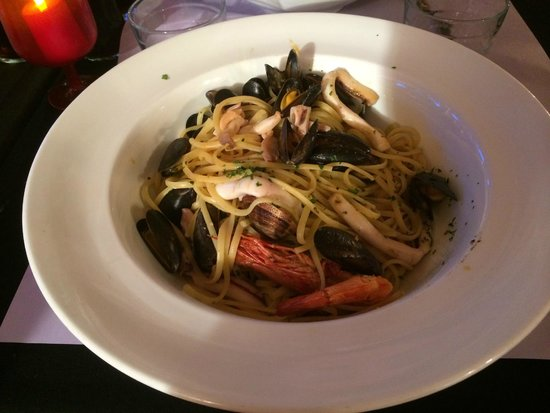Campo di Fiori: Pâtes aux fruits de mer