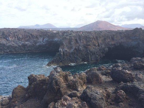Los Hervideros : The view