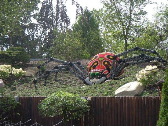 Legoland Billund: ragno