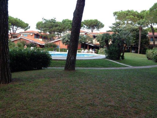 Euro Residence Club: Verde pubblico e piscina bambini