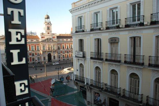 Hotel Europa: Vista desde la ventana