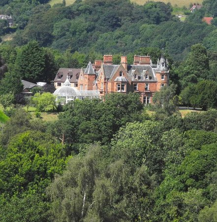 Kingsknowes Hotel: View from Abbotsford Road