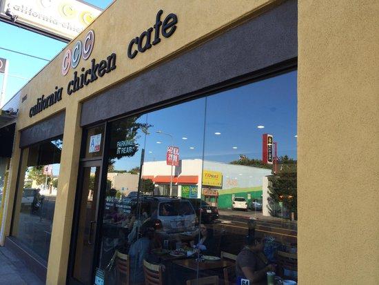 California Chicken Cafe : The exterior