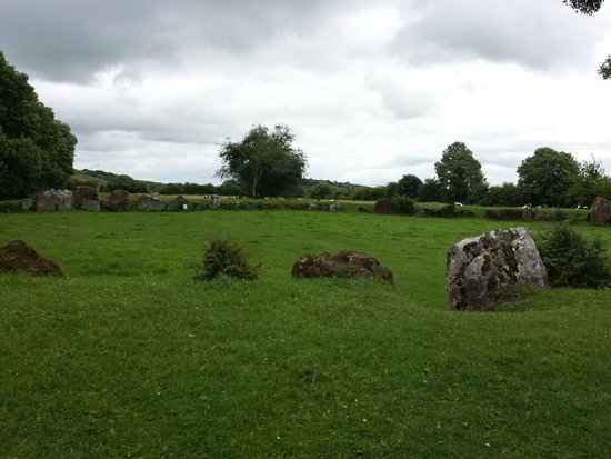 Lough Gur: West end (closest) of the Great Stone Circle