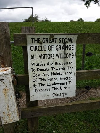 Lough Gur: Gate sign of the Great Stone Circle