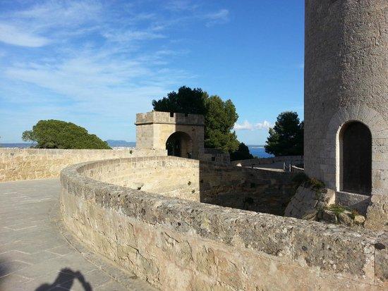 Castell de Bellver (Schloss Bellveder): Angolo
