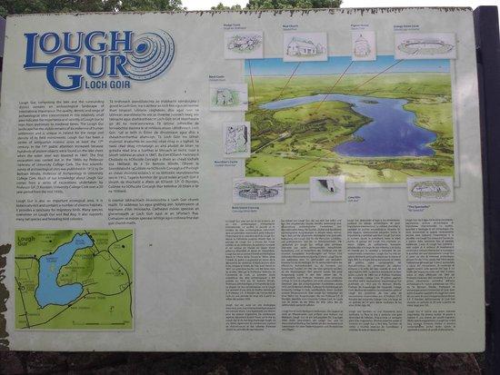 Lough Gur: Photo of Plaque