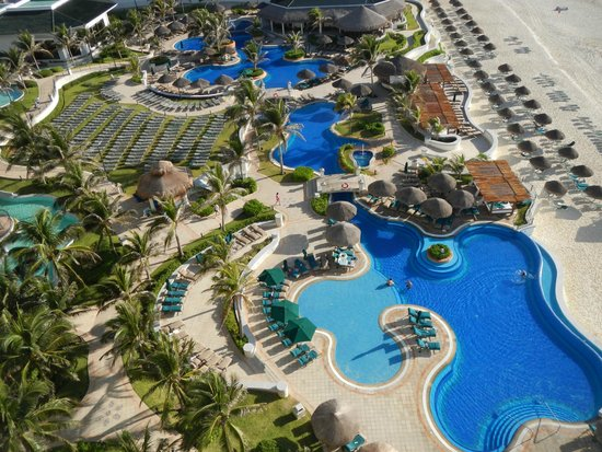 JW Marriott Cancun Resort & Spa: Seen before many times, never gets old.