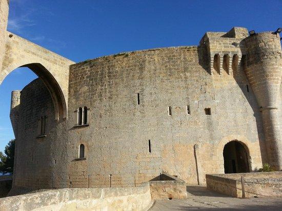 Castell de Bellver (Schloss Bellveder): particolare