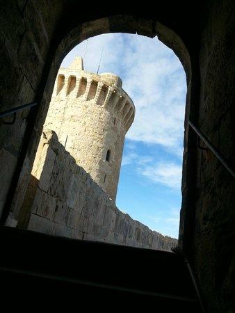 Castell de Bellver (Schloss Bellveder): scorcio