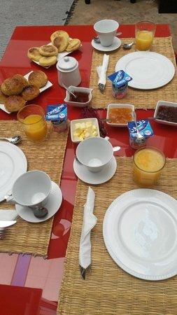 Riad ABHAR: Desayuno
