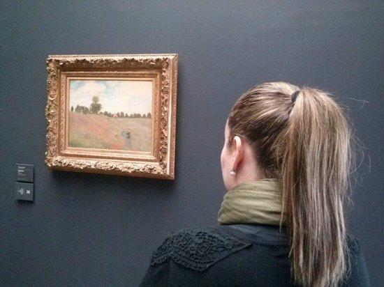 Musée d'Orsay: Uma obra de Monet