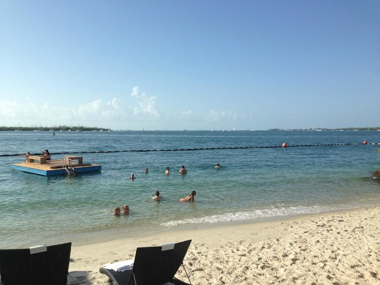 Pier House Resort & Spa : Beach at the hotel