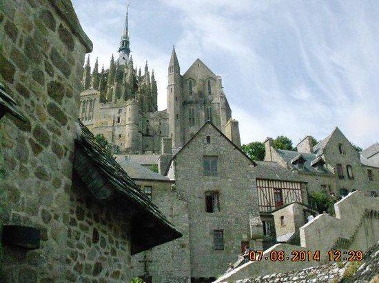 Abbaye du Mont-Saint-Michel : amazing views