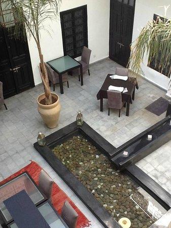 Riad Villa Wenge: vue d'en haut