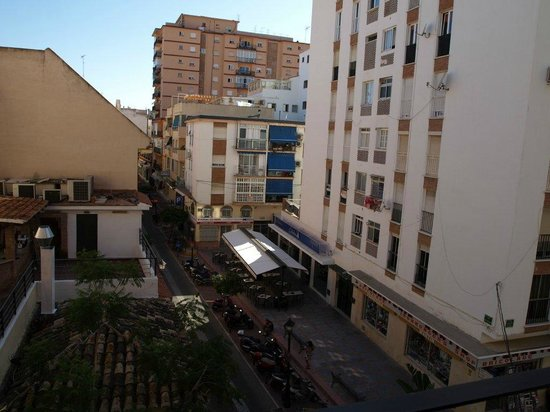 Hostal El Cid: Calle