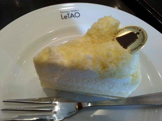 Le Tao Honten: チーズケーキ