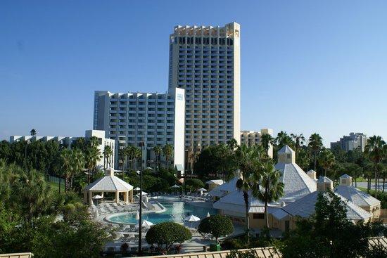Hilton Orlando Buena Vista Palace Disney Springs: super view