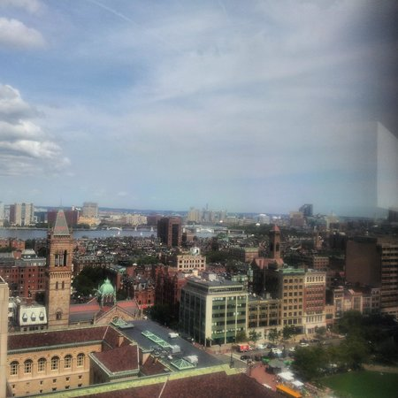 The Westin Copley Place, Boston: View from 1707