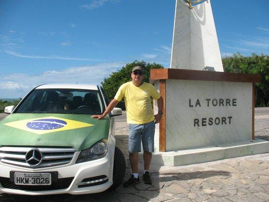 Resort La Torre: fácil acesso, bem identificada