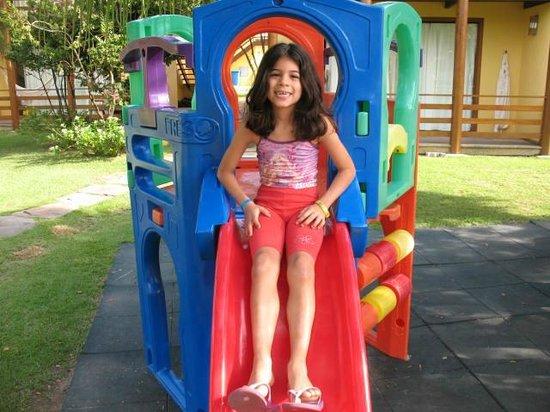 Resort La Torre: as crianças curtiram bastante