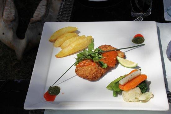 Neptune Mara Rianta Luxury Camp: repas de midi