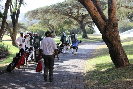 Cascades, Sun City: Caddies