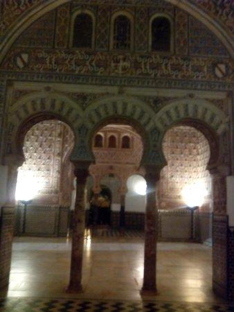 Alcázar: Salones