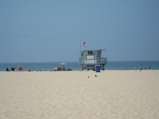 Santa Monica Beach: Baywatch
