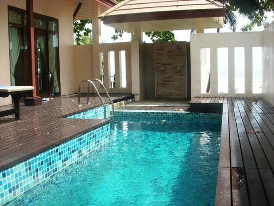 Siam Beach Resort: Приватный бассейн