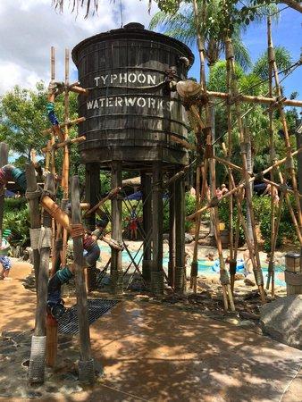 Disney's Typhoon Lagoon Water Park: Scenery
