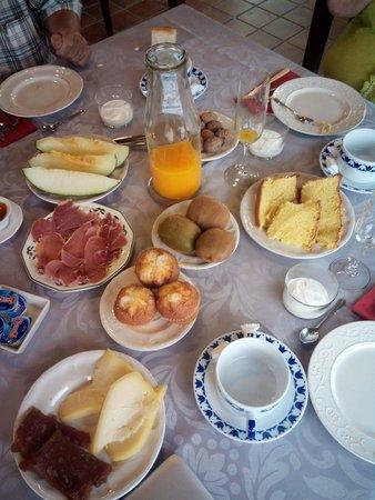 Casa de Lema : Desayuno