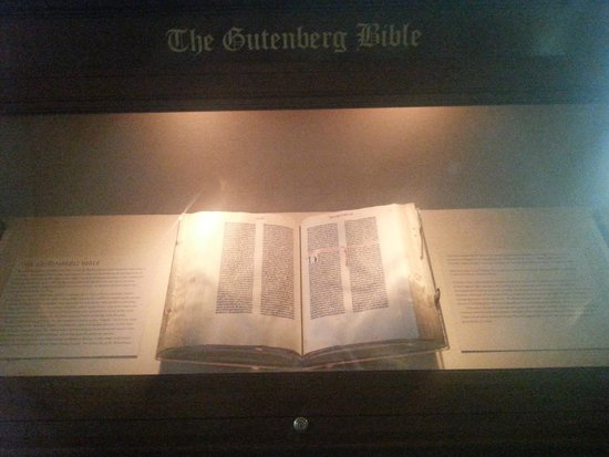 Library of Congress: Gutenberg İncili