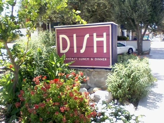 DISH: The Sign is surround by California Scenery