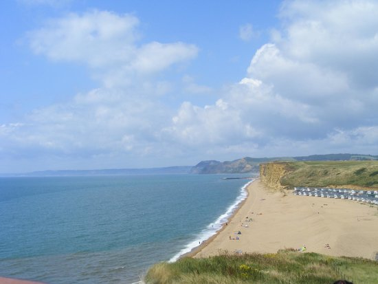 Freshwater Beach Holiday Park: view from cliff walk