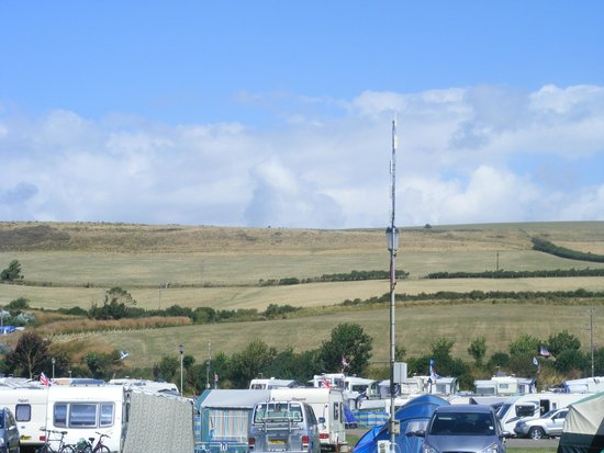 Freshwater Beach Holiday Park: pitch view