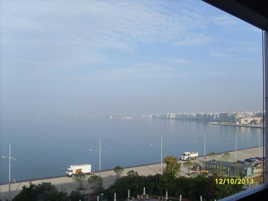 Makedonia Palace: The view of Thermaikos was amazing