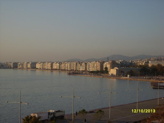 "Makedonia Palace: The ""Lefkos Pirgos"" looked faboulus from the room"