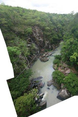 Rio Perdido: View of river from the Mirador