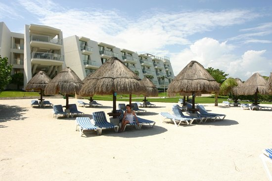 Grand Sirenis Riviera Maya Resort & Spa : Strand