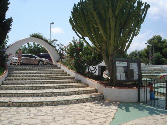 Residence Playa Romana : entrée de la résidence