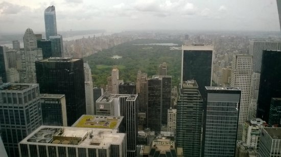Rockefeller Center Tour : top of tehe rock