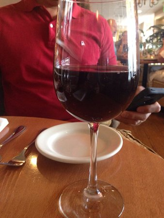 Larks Home Kitchen Cuisine: Glass of Pinot Noir ($12)