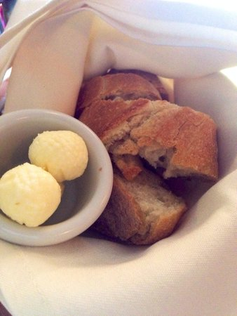Larks Home Kitchen Cuisine: Complimentary bread and butter