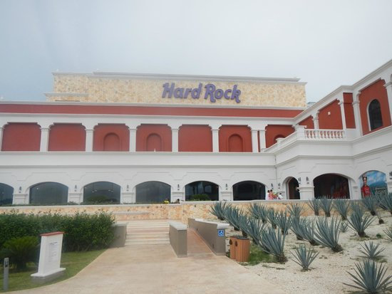 Hard Rock Hotel Riviera Maya : Hotel Sign